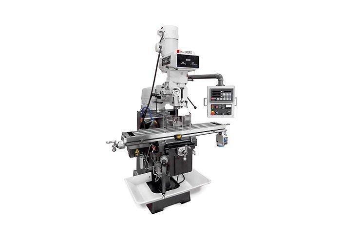 Fresadora universal Série MT, fura até 30mm e fresa 100mm