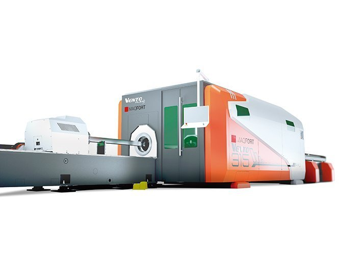 Máquina de corte laser para Tubo e Chapa – Série Vento Flex