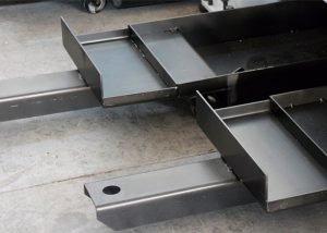 extração de residuos de máquina de corte a plasma