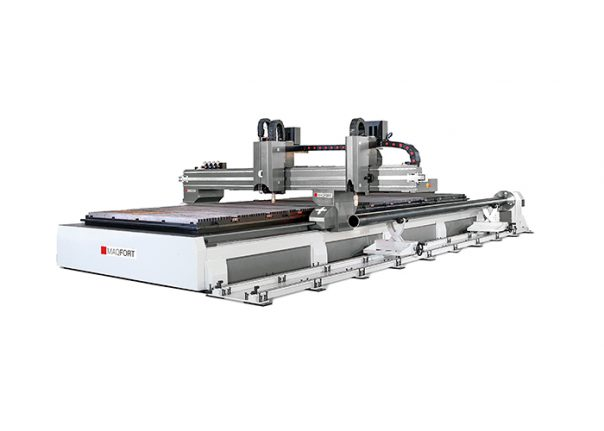 Máquina de plasma para corte de chapa e tubo CNC - TubeCut