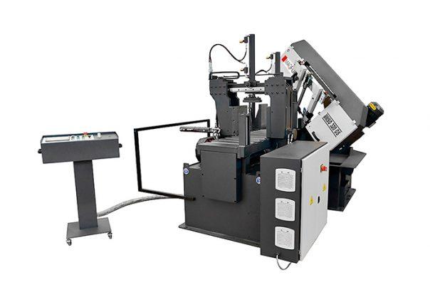 Serrotes de fita para metais de corte automático e alimentador