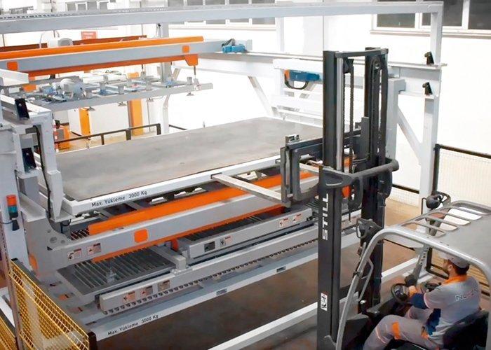 Carregador de Chapa para máquinas de corte laser
