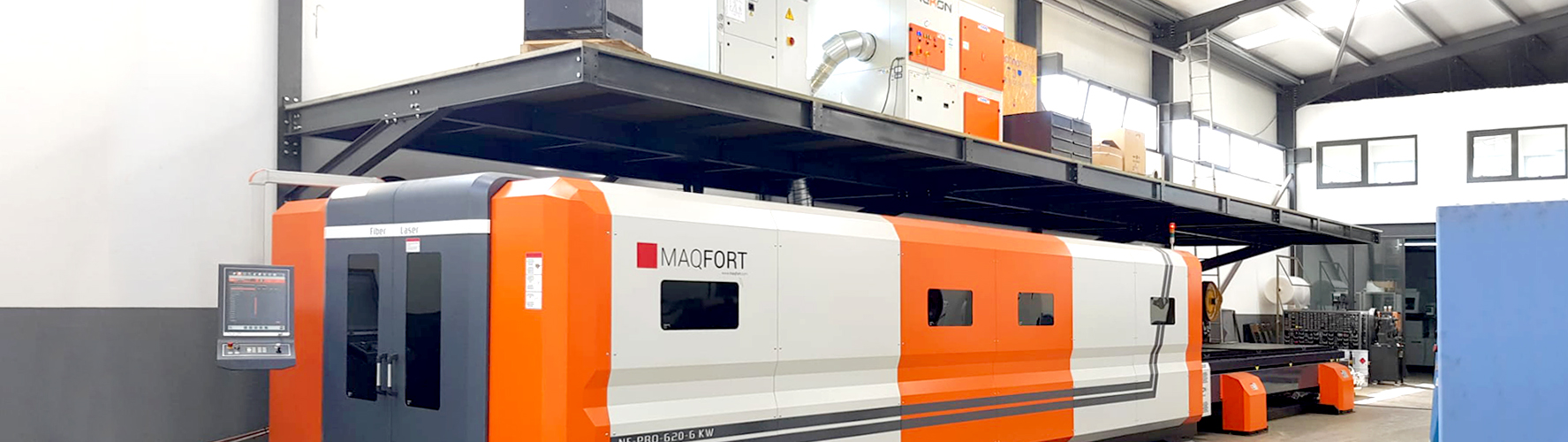 Corte a Laser Fibra para chapa NF-Pro 620
