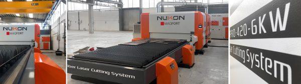 Máquina de corte laser chapa NF-Pro 420 de 6kW