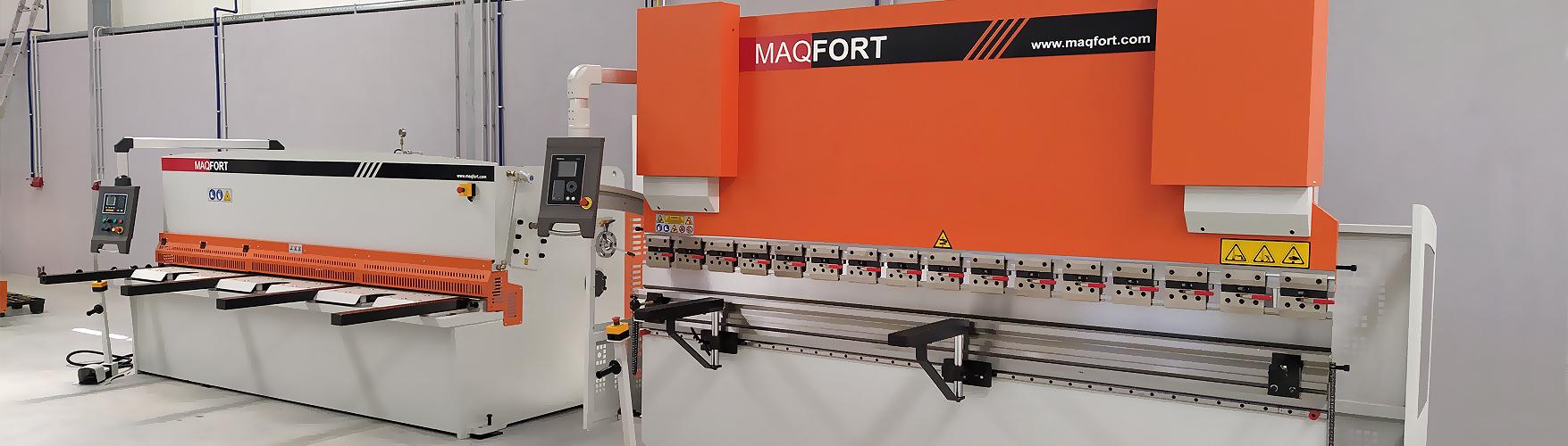 Instalação de Quinadora e Guilhotina hidráulica 3 m |MAQFORT