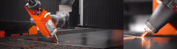 Laser NF-Pro de 6kwMáquina corte chapa Laser NF-Pro com 24m de comprimento